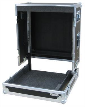 3-delige mobiele regie flightcase